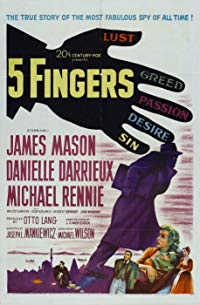 Nonton Film 5 Fingers (1952) Subtitle Indonesia Streaming Movie Download